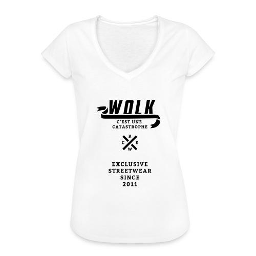 varsityx04 - Vrouwen Vintage T-shirt