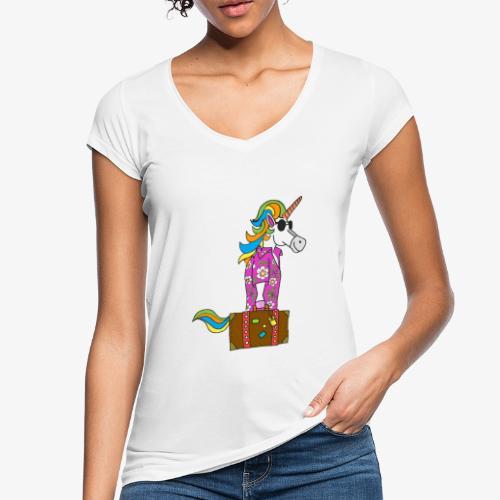 Unicorn trip - T-shirt vintage Femme