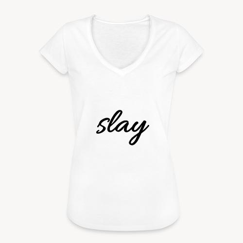SLAY - Naisten vintage t-paita