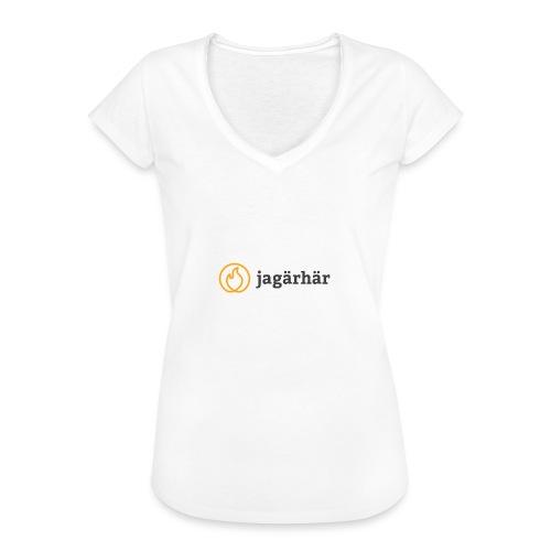 #jagärhär - Vintage-T-shirt dam