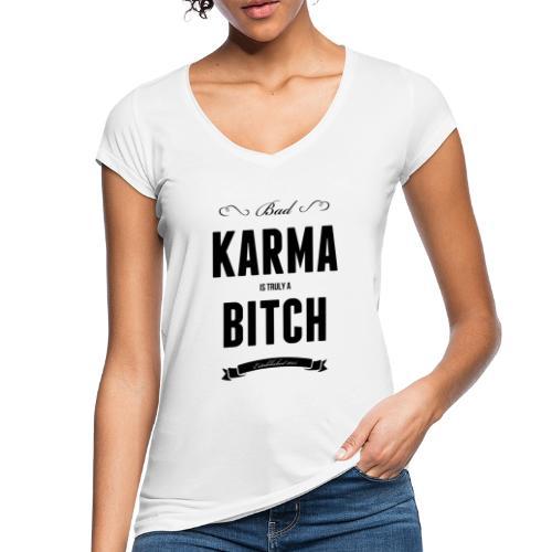 Bad Karma - Frauen Vintage T-Shirt
