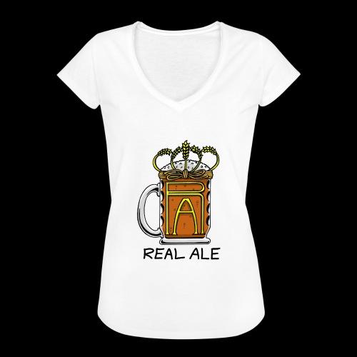 Real Ale - Women's Vintage T-Shirt