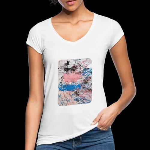 Emelie Kunstwerk V. - Frauen Vintage T-Shirt