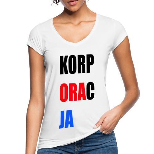Korporacja - Koszulka damska vintage