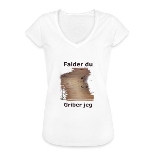 Gulvet Griber - Dame vintage T-shirt
