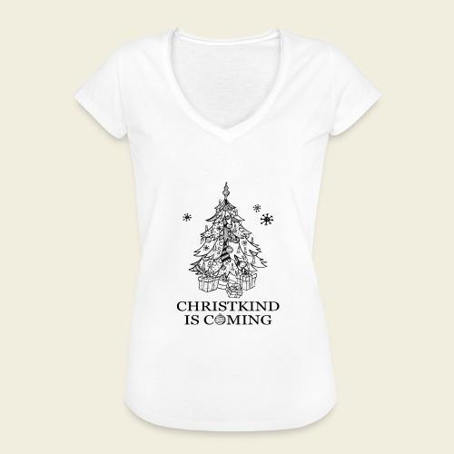 Christkind kommt - Frauen Vintage T-Shirt