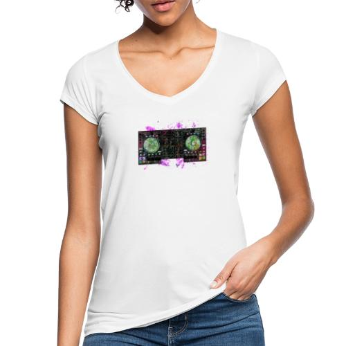 T-shirts design electronic music - Women's Vintage T-Shirt