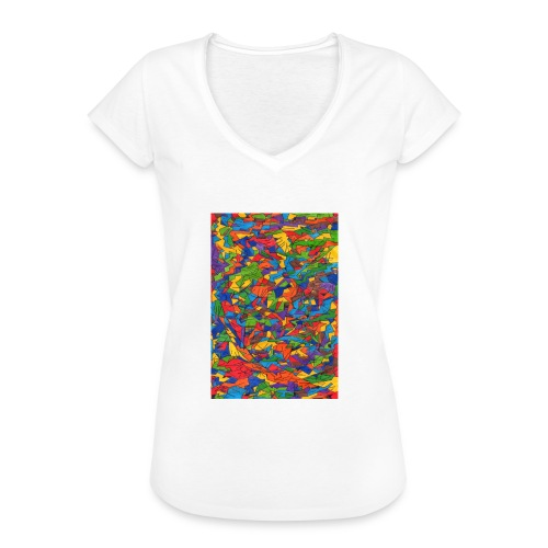 Color_Style - Camiseta vintage mujer