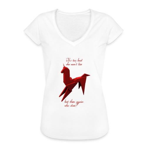 UnicornioBR2 - Camiseta vintage mujer