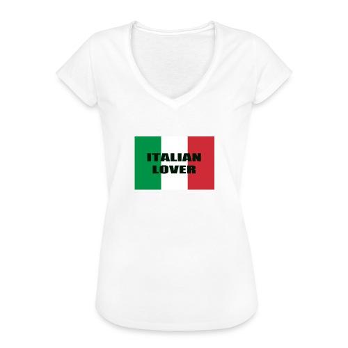 ITALIAN LOVER - Maglietta vintage donna