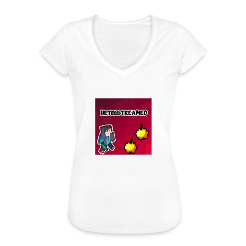 Logo kleding - Vrouwen Vintage T-shirt