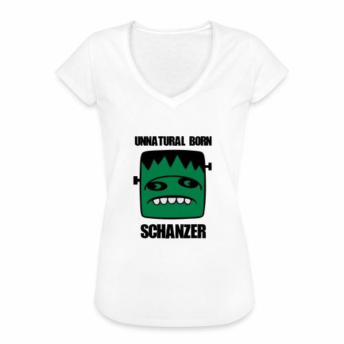 Fonster unnatural born Schanzer - Frauen Vintage T-Shirt