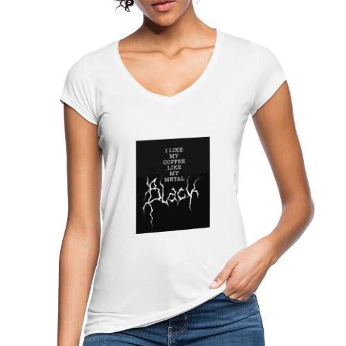 Kaffe - Vintage-T-shirt dam