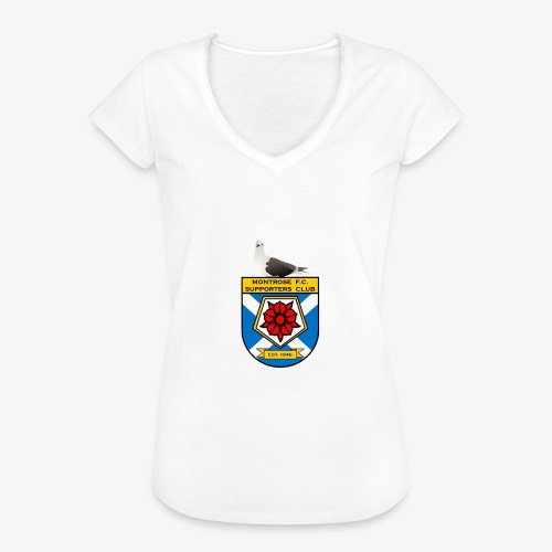 Montrose FC Supporters Club Seagull - Women's Vintage T-Shirt