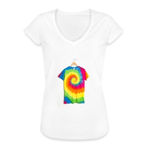 tie die small merch - Women's Vintage T-Shirt