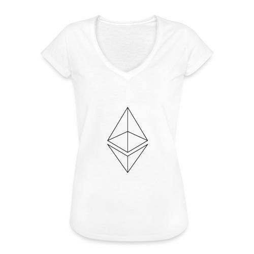 Ethereum - Naisten vintage t-paita