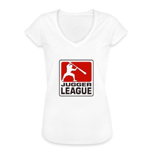 Jugger LigaLogo - Frauen Vintage T-Shirt