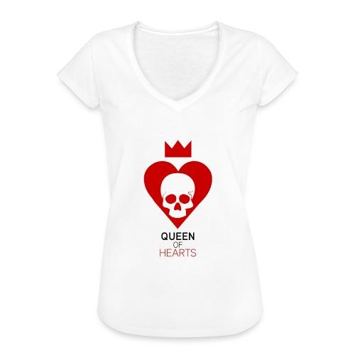 Tee shirt manches longues Reine des Coeurs - T-shirt vintage Femme
