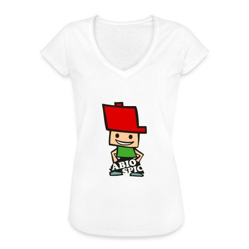 Fabio Spick - Frauen Vintage T-Shirt
