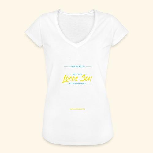 Extremadamente Felices - Camiseta vintage mujer