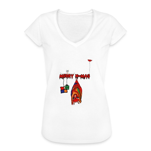 Merry X-MAS - Frauen Vintage T-Shirt