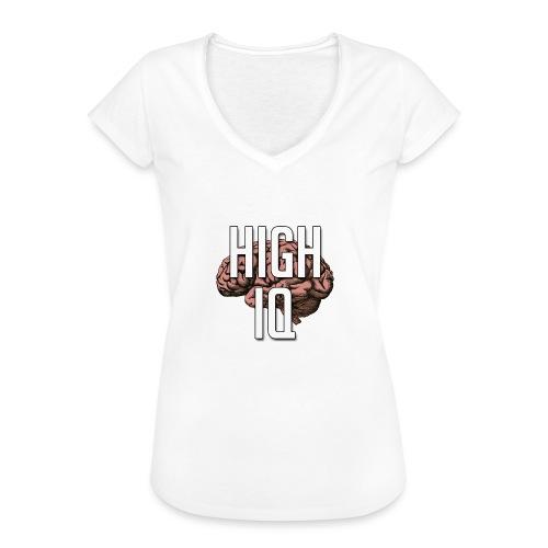 XpHighIQ - T-shirt vintage Femme