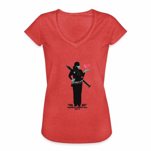 Nuestras Heroinas. - Camiseta vintage mujer