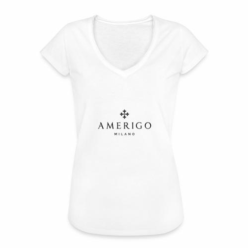 Amerigo Milano - Maglietta vintage da donna