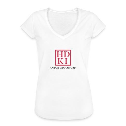 Karate Adventures HDKI - Women's Vintage T-Shirt