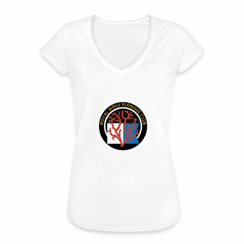 Royal Wolu Plongée Club - T-shirt vintage Femme