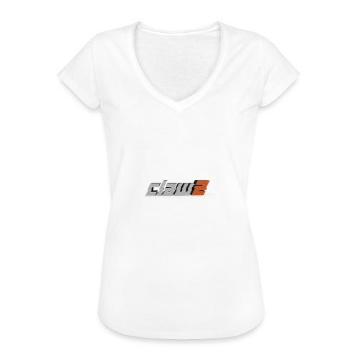ClawZ Logo - Vintage-T-shirt dam