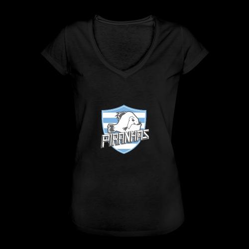 Logo Piranhas v5 - T-shirt vintage Femme