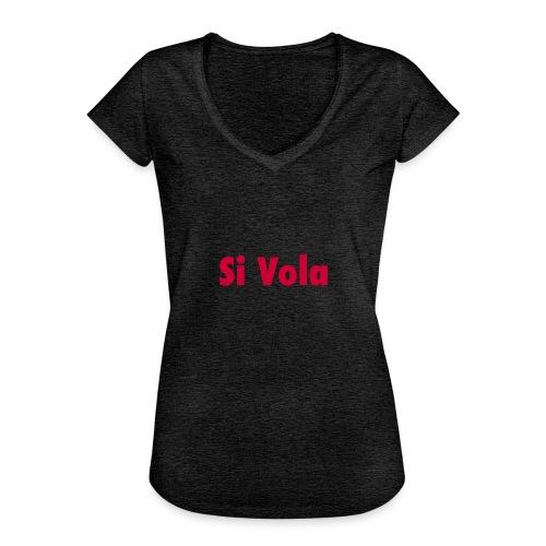 SiVola - Maglietta vintage donna