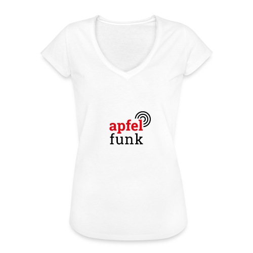 Apfelfunk Edition - Frauen Vintage T-Shirt