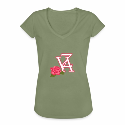 Rose of life - T-shirt vintage Femme