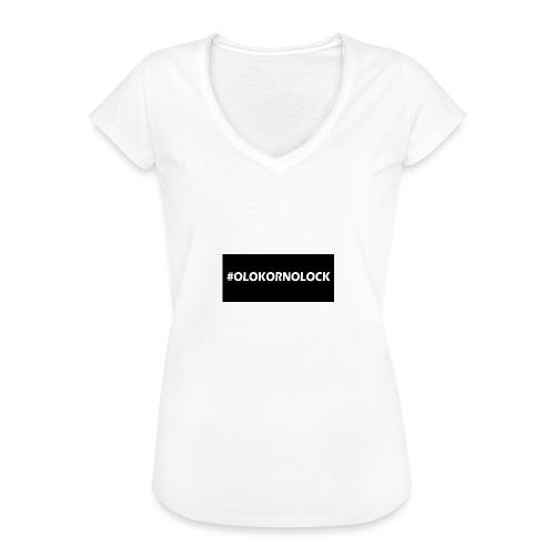 #OLOKORNOLOCK - Vintage-T-shirt dam