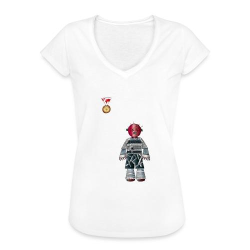 Trashcan - Frauen Vintage T-Shirt