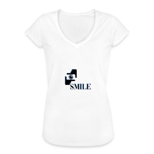 Smile - T-shirt vintage Femme