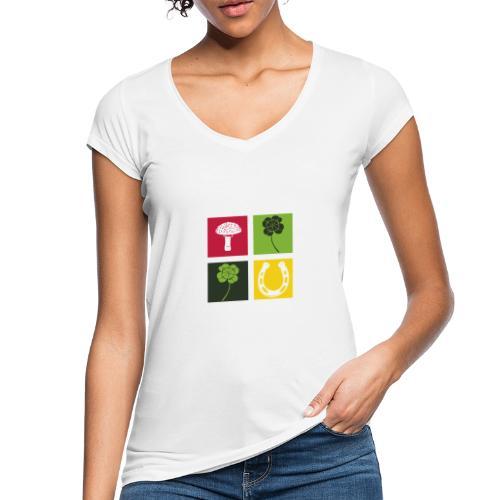 Just my luck Glück - Frauen Vintage T-Shirt