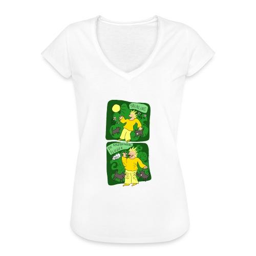 Katzenhaare - Frauen Vintage T-Shirt
