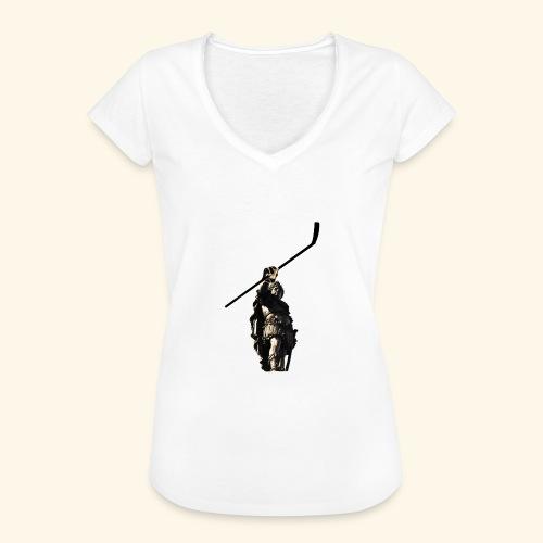 Eishockey Augsburg - Frauen Vintage T-Shirt