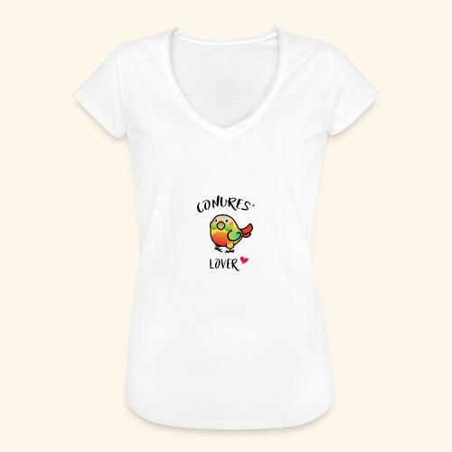 Conures' Lover: Ananas - T-shirt vintage Femme