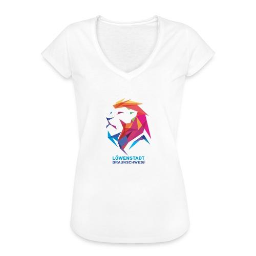 Löwenstadt Design 7 - Frauen Vintage T-Shirt