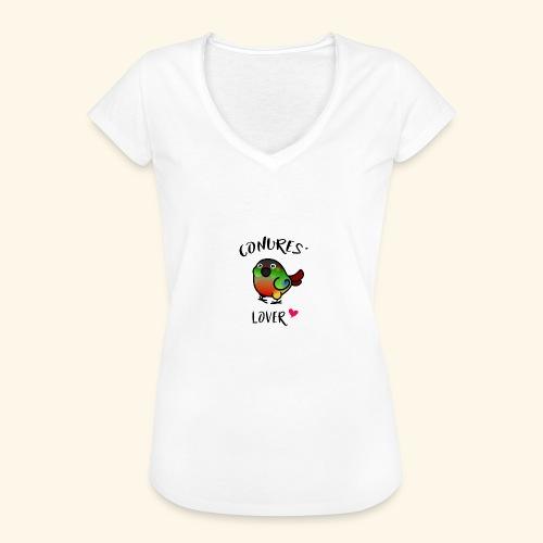 Conures' Lover: opaline - T-shirt vintage Femme