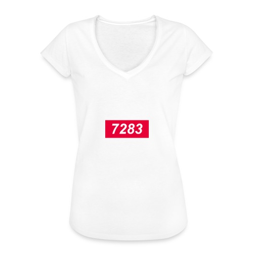 7283-Red - Women's Vintage T-Shirt