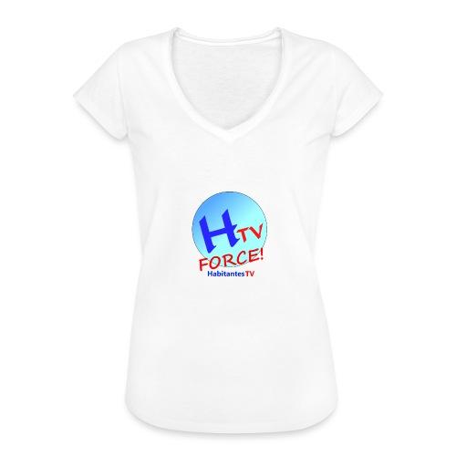 LOGO1.png - Camiseta vintage mujer