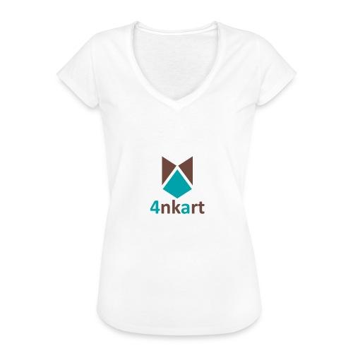 logo 4nkart - T-shirt vintage Femme