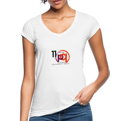 11q_logo_century - Frauen Vintage T-Shirt