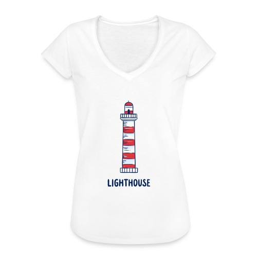 Lighthouse - Frauen Vintage T-Shirt