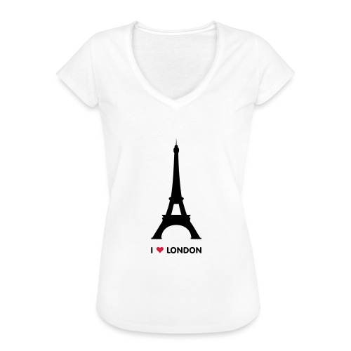 I love London - Vrouwen Vintage T-shirt